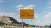 Il confine fra Arizona e New Mexico