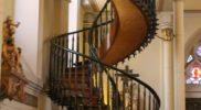 La scala di legno di Santa Fe