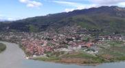 Vista di Mtskheta dal monastero di Jvari – Foto Mirko Marino © Su gentile concessione di http://www.mirkontinental.com/ – tutti i diritti riservati