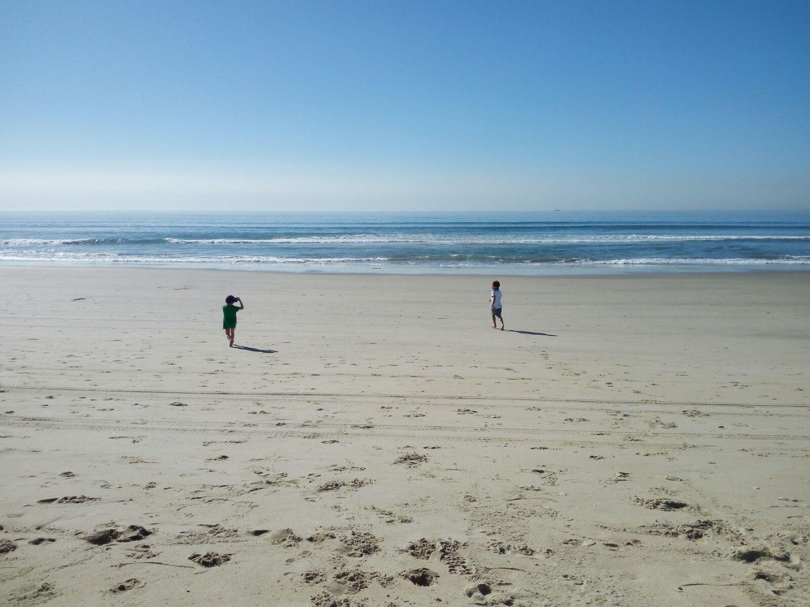 L'infinita spiaggia di San Diego, isola del Coronado - Foto Elena Magini © Su gentile concessione dell'autrice - tutti i diritti riservati