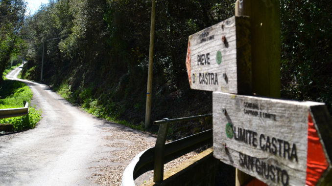Trekking Castra Vecchia - Capraia e Limite
