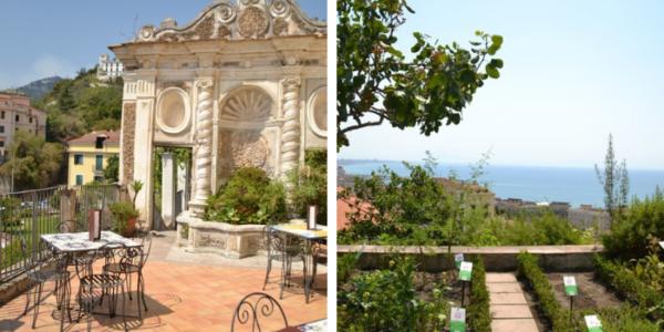 Il Giardino della Minerva, un balcone 'botanico' sul mare di Salerno